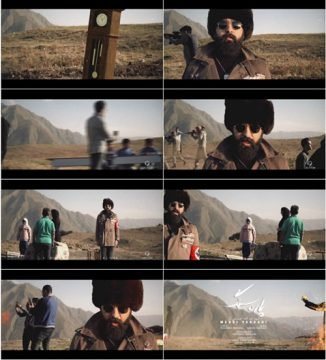 صور من فيديوكليب «پاره سنگ» وتعني بـ«قطعة حجر»