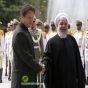 الرئيس الإيراني والباكستاني يصدران بيانا مشتركا