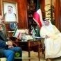 ظريف لولي العهد الكويتي: نحن وانتم باقون في المنطقة والغرباء سيرحلون عنها