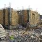 استمرار بناء المنازل المتضرر ة جراء الفيضانات في خوزستان